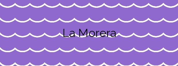 Información de la Playa La Morera en Benalmádena