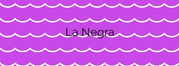 Información de la Playa La Negra en Alajeró