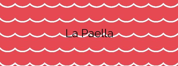 Información de la Playa La Paella en Torredembarra
