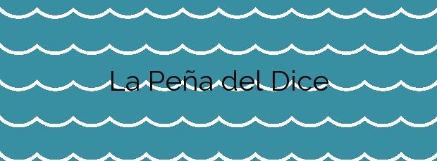 Información de la Playa La Peña del Dice en Tías