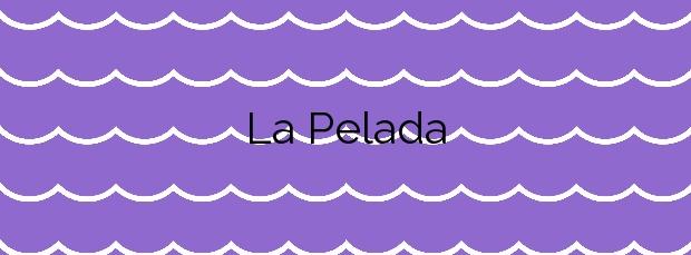 Información de la Playa La Pelada en Granadilla de Abona