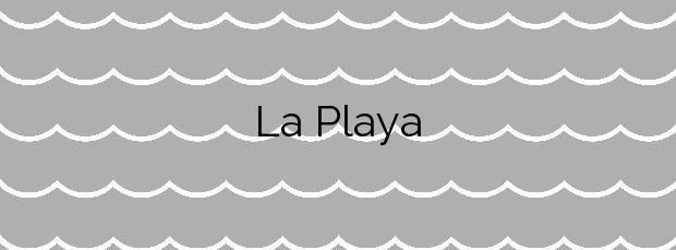 Información de la Playa La Playa en L'Escala