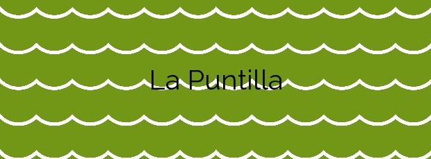 Información de la Playa La Puntilla en El Puerto de Santa María