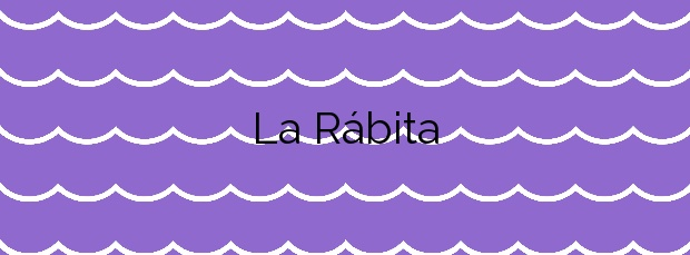Información de la Playa La Rábita en Albuñol