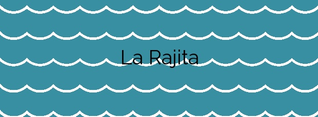 Información de la Playa La Rajita en Granadilla de Abona