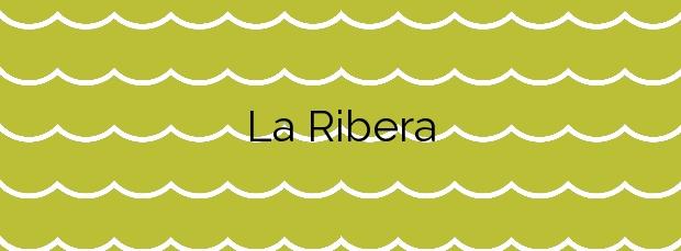 Información de la Playa La Ribera en Gozón
