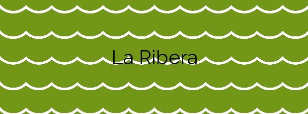 Información de la Playa La Ribera en Suances