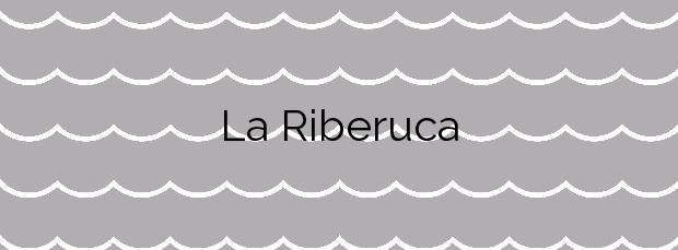 Información de la Playa La Riberuca en Suances