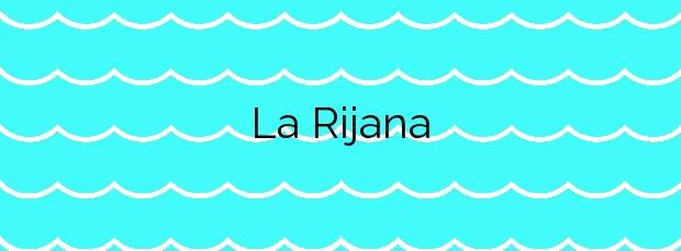 Información de la Playa La Rijana en Gualchos