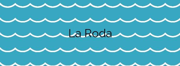 Información de la Playa La Roda en Altea