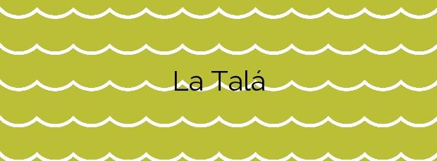 Información de la Playa La Talá en Llanes