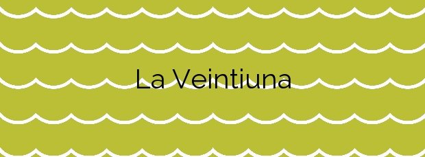 Información de la Playa La Veintiuna en Almuñécar