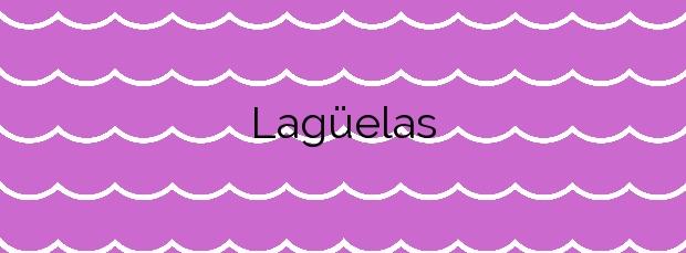 Información de la Playa Lagüelas en Cangas