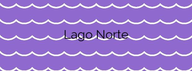 Información de la Playa Lago Norte en Camariñas