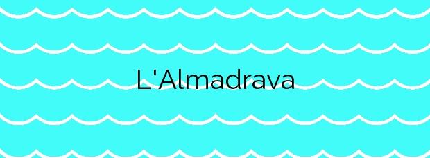 Información de la Playa L'Almadrava en Benicasim