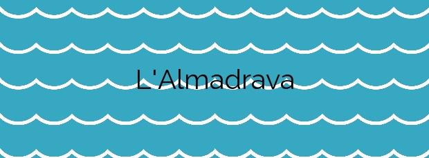 Información de la Playa L'Almadrava en Vilassar de Mar