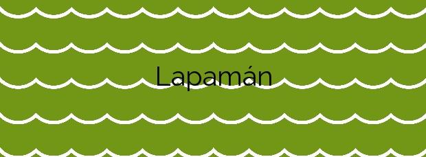 Información de la Playa Lapamán en Bueu