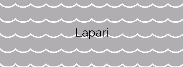 Información de la Playa Lapari en Deba