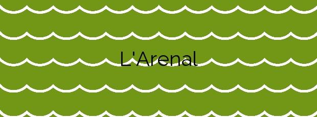 Información de la Playa L'Arenal en Borriana
