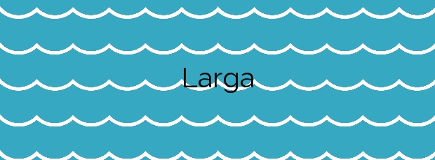 Información de la Playa Larga en Cartagena