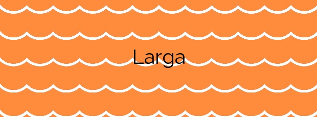 Información de la Playa Larga en La Oliva
