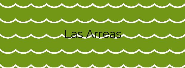 Información de la Playa Las Arreas en Valdés