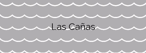 Información de la Playa Las Cañas en Cartagena
