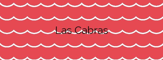 Información de la Playa Las Cabras en Fuencaliente de la Palma