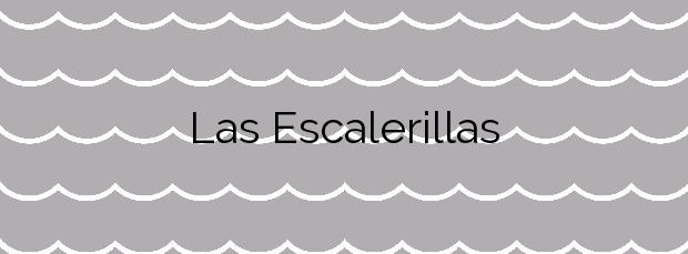 Información de la Playa Las Escalerillas en Cartagena