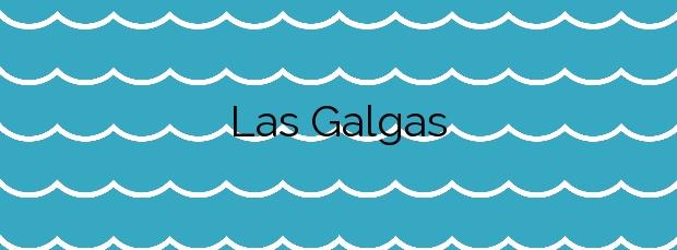 Información de la Playa Las Galgas en Adeje