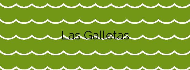 Información de la Playa Las Galletas en Arona