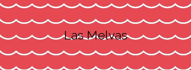 Información de la Playa Las Melvas en Cartagena