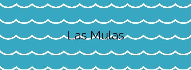 Información de la Playa Las Mulas en Cartagena