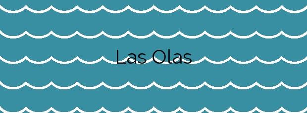 Información de la Playa Las Olas en Almería