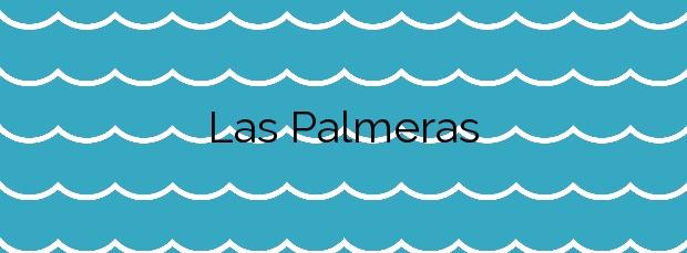 Información de la Playa Las Palmeras en Los Alcázares