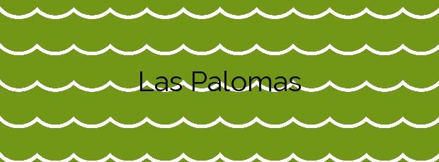 Información de la Playa Las Palomas en Teguise