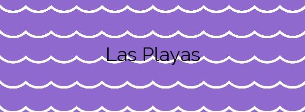 Información de la Playa Las Playas en Valverde