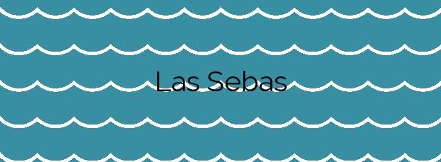 Información de la Playa Las Sebas en Haría