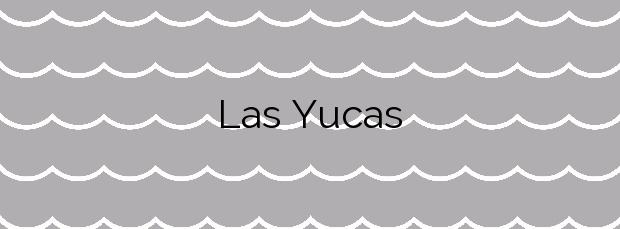 Información de la Playa Las Yucas en Benalmádena