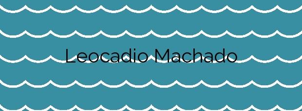 Información de la Playa Leocadio Machado en Granadilla de Abona