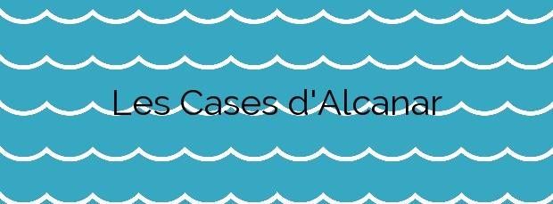 Información de la Playa Les Cases d'Alcanar en Alcanar