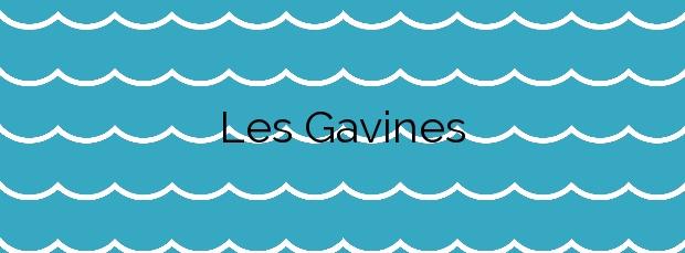 Información de la Playa Les Gavines en Cubelles
