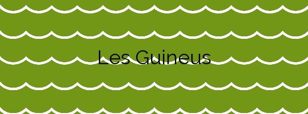 Información de la Playa Les Guineus en Roda de Barà