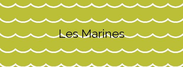 Información de la Playa Les Marines en Nules