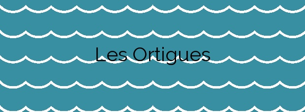 Información de la Playa Les Ortigues en Guardamar del Segura