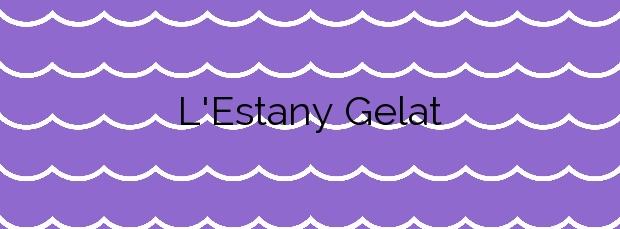 Información de la Playa L'Estany Gelat en Mont-roig del Camp