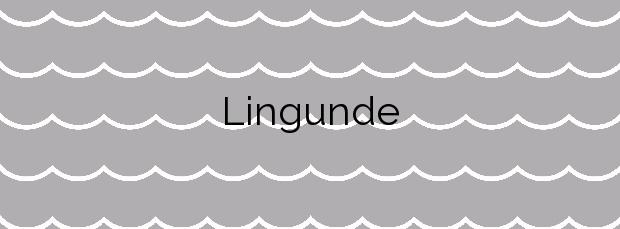 Información de la Playa Lingunde en Camariñas