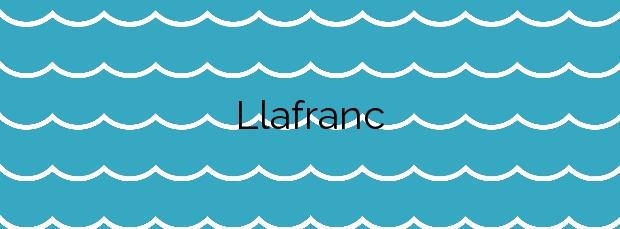 Información de la Playa Llafranc en Palafrugell