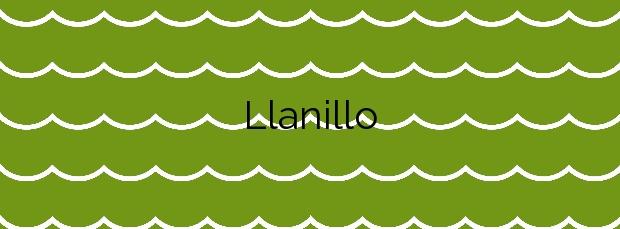 Información de la Playa Llanillo en San Bartolomé de Tirajana