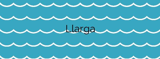 Información de la Playa Llarga en Salou
